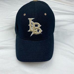 Authentic  Zephyr Black  Long Beech Hat Sz M/L.